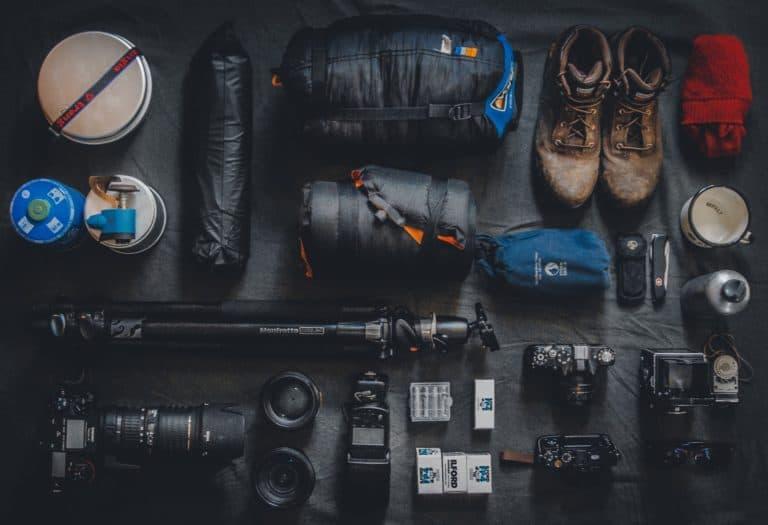 Ausrüstung Sammlung