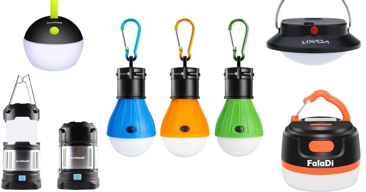 Zeltlampen Kaufratgeber