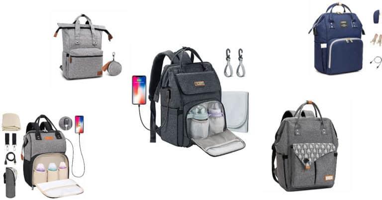 Wickeltaschen Rucksack